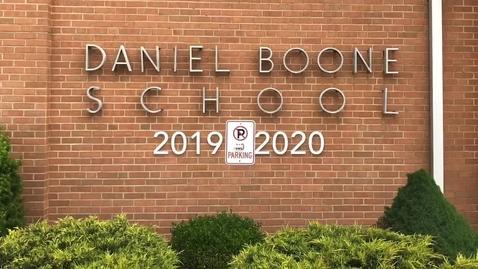 Thumbnail for entry Daniel Boone Elementary Slideshow 2019 - 2020