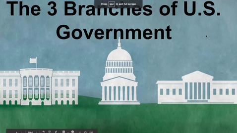 Thumbnail for entry The Legislative Branch