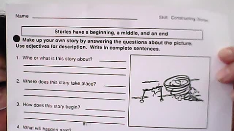Thumbnail for entry Writing - May 27/Constructing Stories, 5 questions