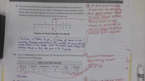 Thumbnail for entry 6th Grade Math Chapter 12 Review - Part 2