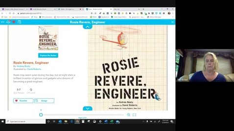 Thumbnail for entry Rosie Revere, Engineer - Mrs. Birkel.mp4