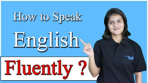 Thumbnail for entry SPOKEN ENGLISH for Beginners | How to Speak English fluently? | Letstute
