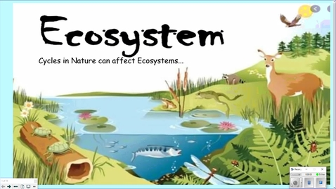 Thumbnail for entry 2. Cycles in Ecosystems