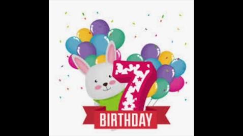 Thumbnail for entry Happy Birthday Jayden!