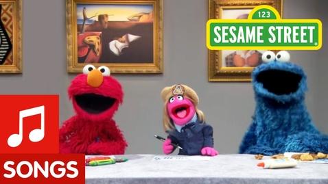 Thumbnail for entry Sesame Street: Make Your Own Art Song