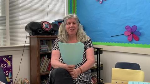 Thumbnail for entry 2nd Grade GREETING - Tuesday, May 12