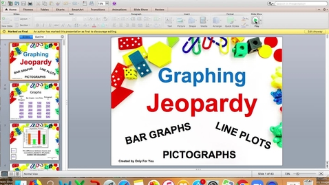 Thumbnail for entry Graphing Jeopardy
