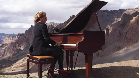 Thumbnail for entry Highest altitude grand piano performance