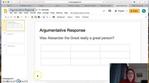 Thumbnail for entry Alexandar_Argumentative