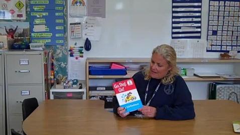 Thumbnail for entry Ms. Teresa reading Go Dog Go