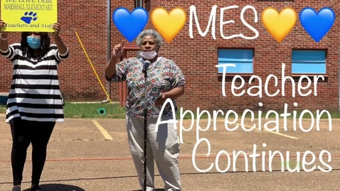 Thumbnail for entry MES Teacher Appreciation Continues 2020