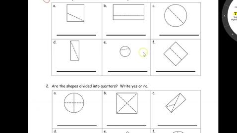 Thumbnail for entry Lesson 8 Problem Set