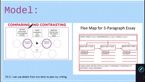 Thumbnail for entry Double Bubble Map to Flee Map - Written Response