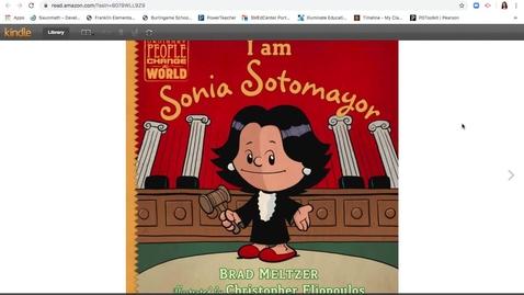 Thumbnail for entry I Am Sonia Sotomayor