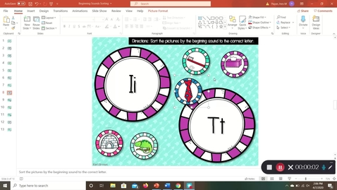 Thumbnail for entry Phonics Lesson 04/08/2020 with Mrs. Payan