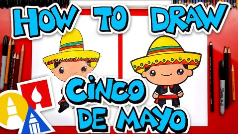 Thumbnail for entry How To Draw A Cinco De Mayo Boy