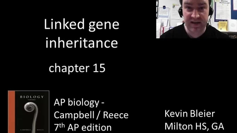 Thumbnail for entry Linked gene inheritance