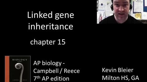 Thumbnail for entry Linked gene inheritance