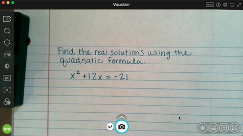 Thumbnail for entry 3-31 Attendance Answers - Algebra 1b