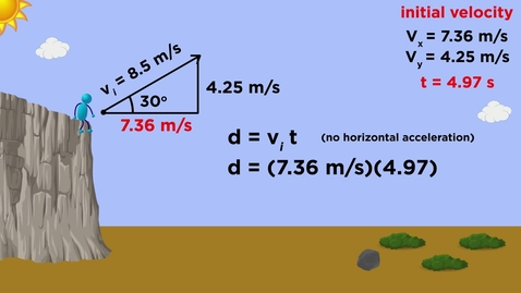 Thumbnail for entry Projectile Motion