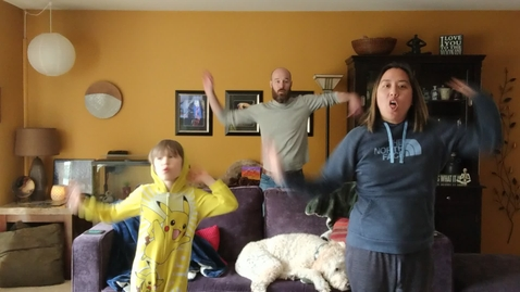 Thumbnail for entry Mr. Cameron and Mrs. Williams family dance moves!.mp4