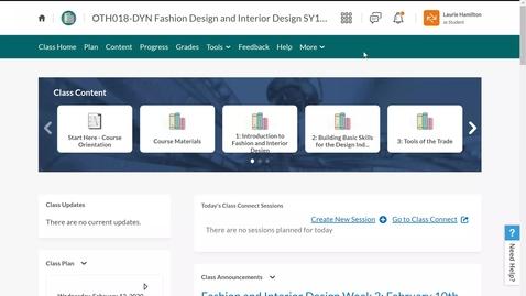 Thumbnail for entry Fashion and Interior Design: Create Portfolio in Locker