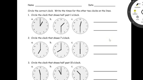 Thumbnail for entry Lesson 13 Problem Set