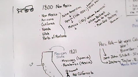 Thumbnail for entry Social Studies -  April 29 /13.3 War with Mexico
