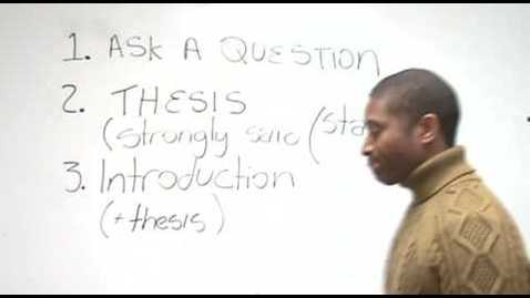 Thumbnail for entry How to Write an Effective Essay