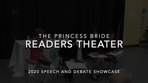 Thumbnail for entry The Princess Bride (Readers Theater)
