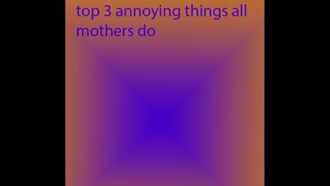 Thumbnail for entry Mom Problems - WSCN  PTV 2 (2019/2020)