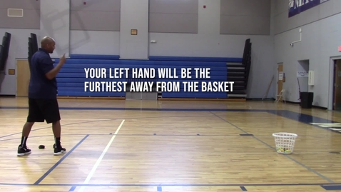 Thumbnail for entry Left Side - 2 Hand Sock Toss with Laundry Basket