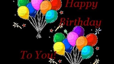 Thumbnail for entry Happy Birthday - Original english version  ♪♫