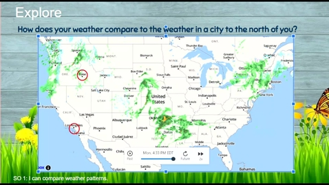 Thumbnail for entry Comparing Weather - North & South