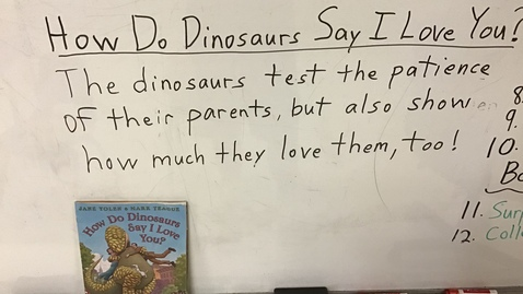 Thumbnail for entry Story  Sentences for How Do Dinosaurs...