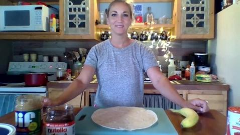 Thumbnail for entry Recipe Tuesday - Banana Sushi!