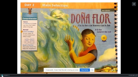Thumbnail for entry Dona Flor read aloud with Mrs. N