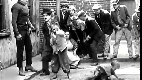 Thumbnail for entry The Kid,Charlie Chaplin fight scene one of the funniest scenes in kid