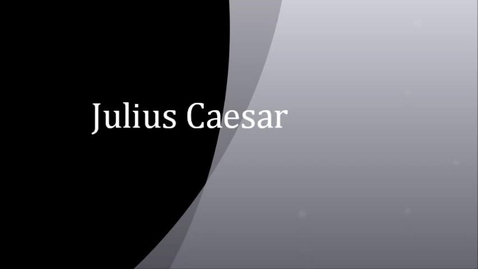 Thumbnail for entry Julius Caesar Jake