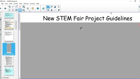 Thumbnail for entry STEM Fair Guidelines