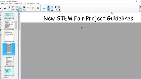 Thumbnail for entry STEM Fair Guidelines