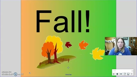 Thumbnail for entry 1st Fall