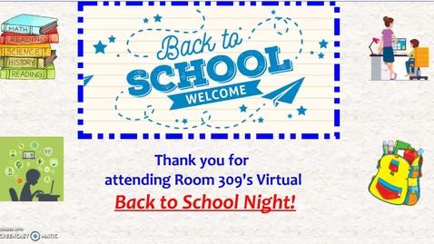 Thumbnail for entry Back To School Night Presentation - de Leon