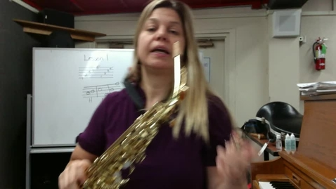 Thumbnail for entry Elem. Saxophone Sectional May 12