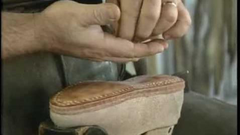 Thumbnail for entry Exploring Historic America with Brady Kress - Old Sturbridge Village Shoe Making