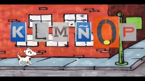 Thumbnail for entry Spanish Alphabet Song - Orale, el alfabeto: Word, The Alphabet