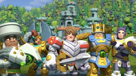 Thumbnail for entry Kingdom Builders | Episode 26: Bash Kitty | Cartoon Webisode for Kids