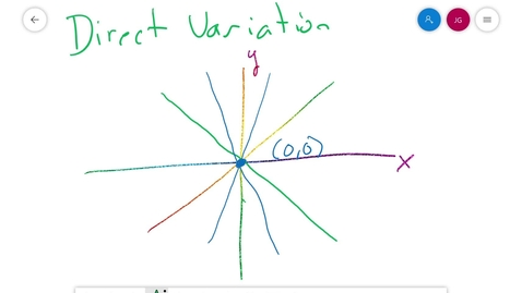 Thumbnail for entry Math 7 5.3 Direct Variation Table