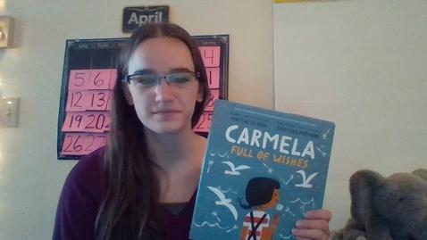 Thumbnail for entry Carmela Full of Wishes by Matt de la Pena