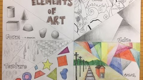 Thumbnail for entry Elements of Art Poster